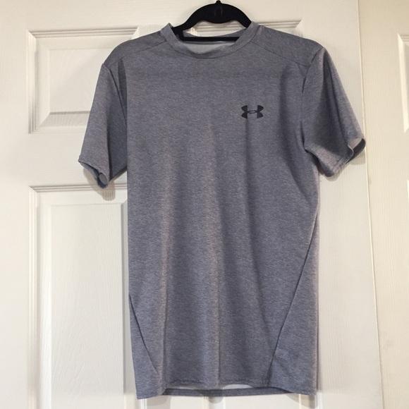 Gray Under Armour Compression Shirt
